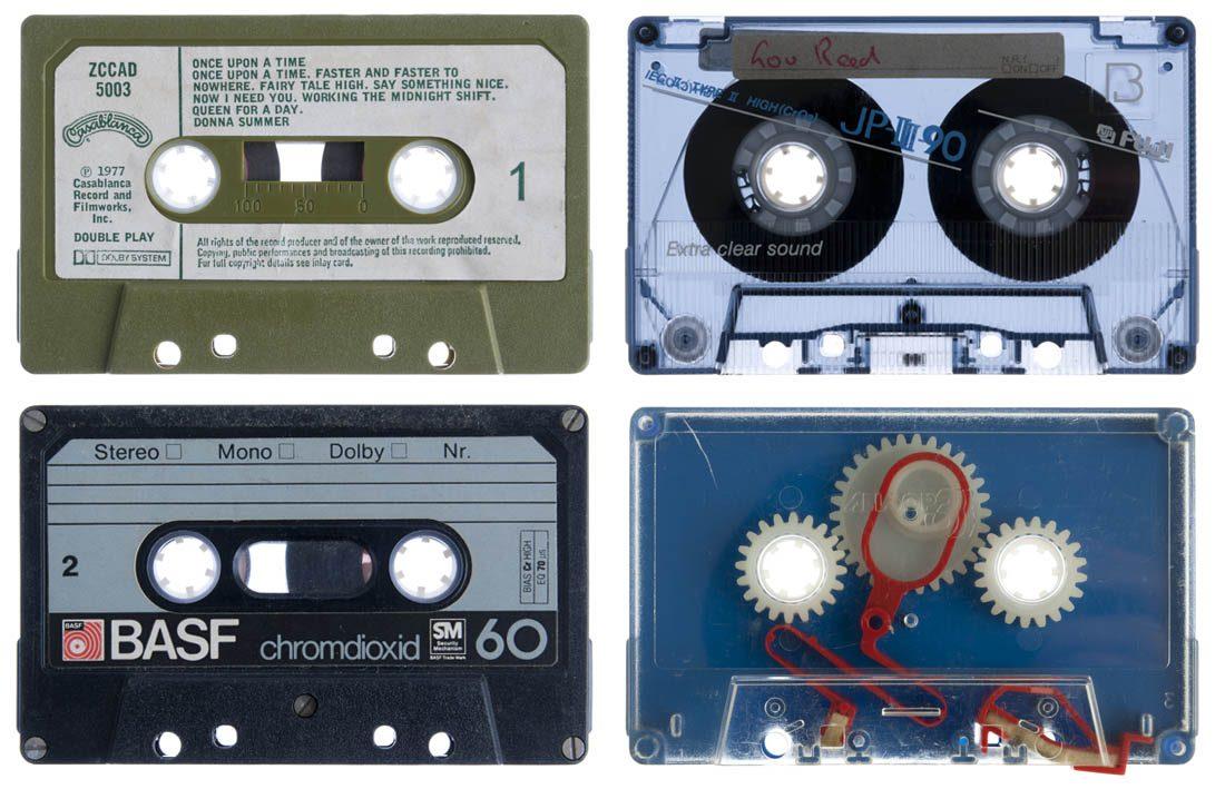 Cassette op achterwand
