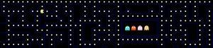 Achterwand Pacman 400 x 70 cm