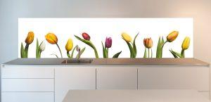 tulips-keukenachterwand