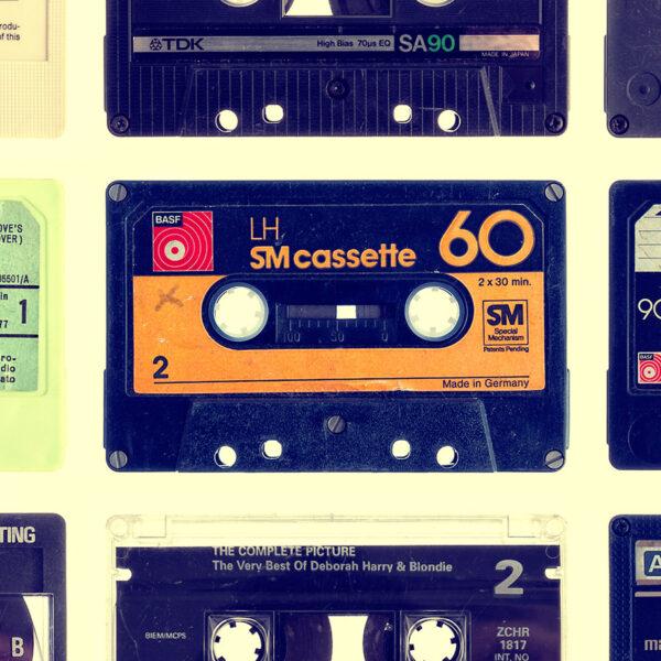 Cassette Detail Splashback Kitchen - 3