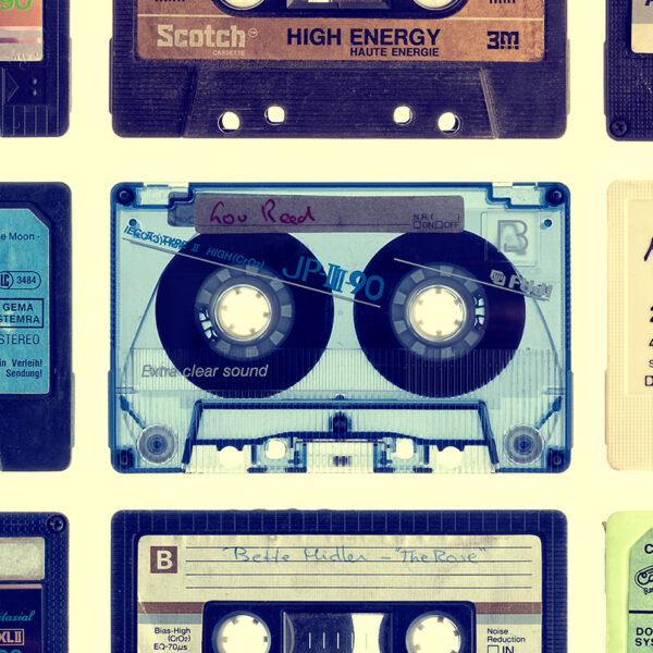 Cassette Detail Splashback Kitchen - 2