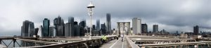 Achterwand New York - Brooklyn Bridge