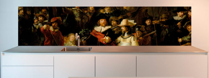 Rembrandt Night Watch masterpiece design