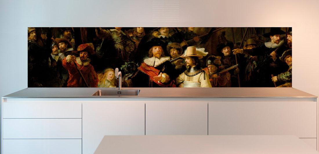 Rembrandt Night Watch masterpiece design