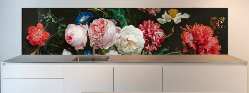 Floral Stillive kitchen backsplash ideas