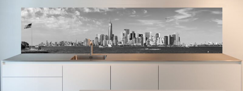 kitchen wall design Manhattan