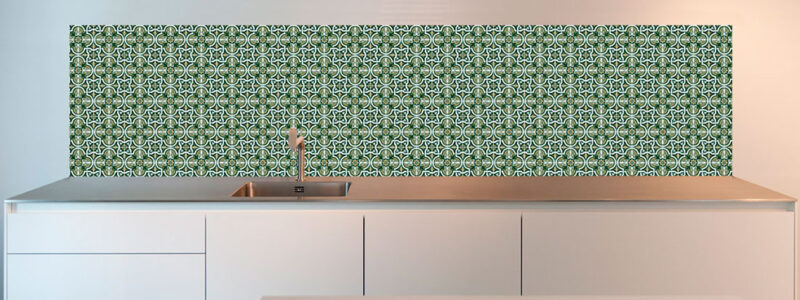 Alternative tiles kitchen design
