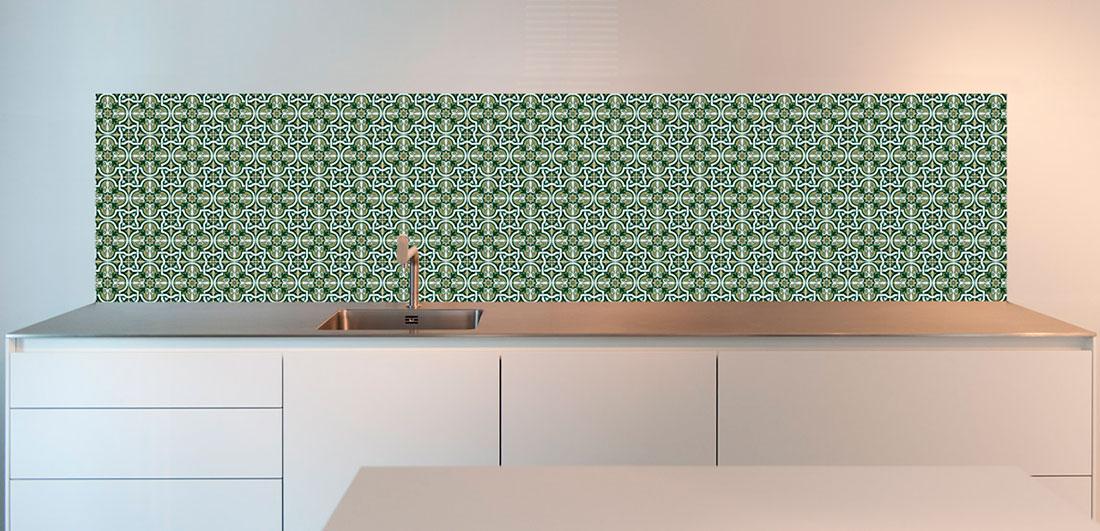 Keuken wandtegels alternatief   Portugees tegels ontwerp   Bekijk product!