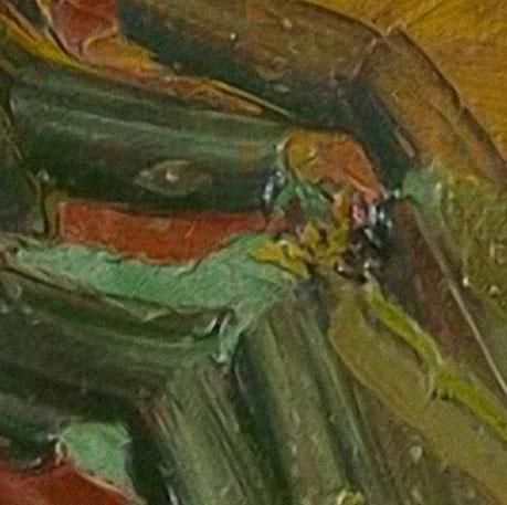 keuken foto achterwand van Gogh