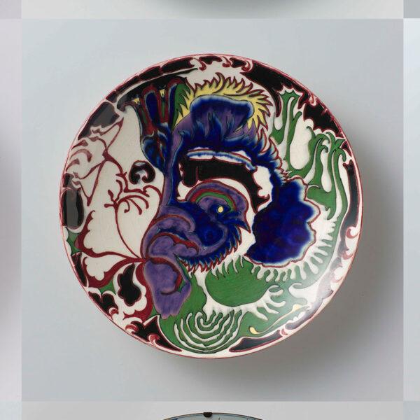 Ideas for kitchen antique plates splashback design