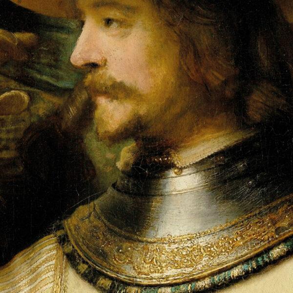 Rembrandt Night Watch masterpiece design detail 2