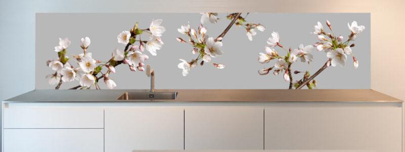 design keuken achterwand bloesem