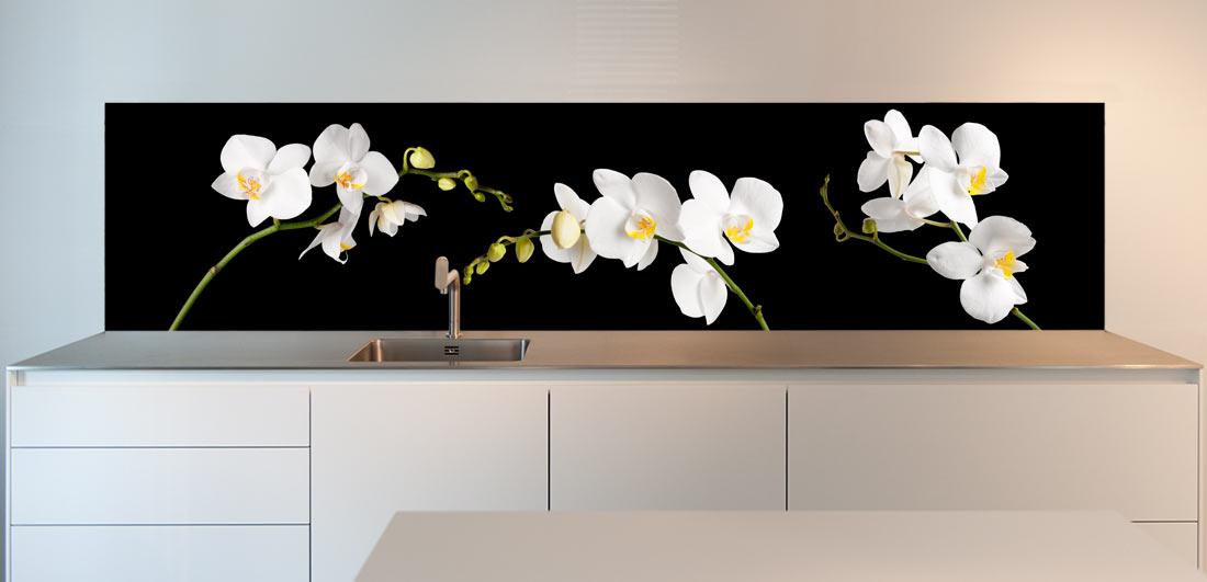 keukenbehang-orchidee