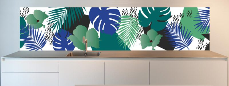 Creative Kitchen splash back design
