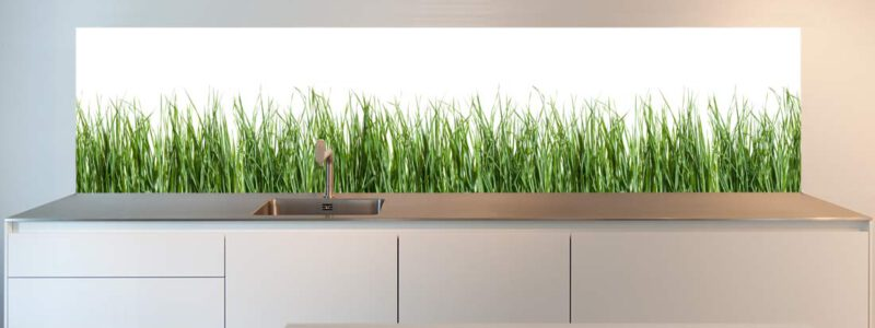 kitchen-wall-spring-grass