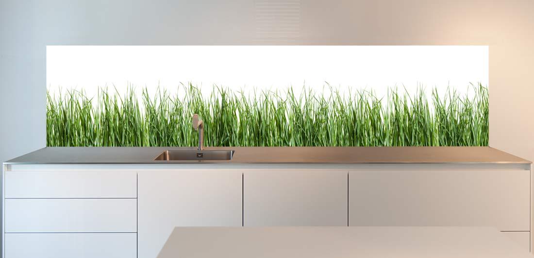 kitchen-wall-spring-grass
