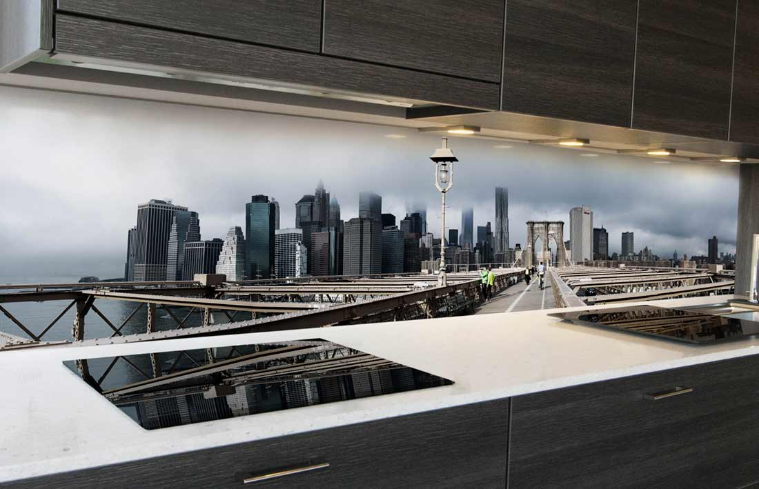 Brooklyn Bridge keuken achterwand