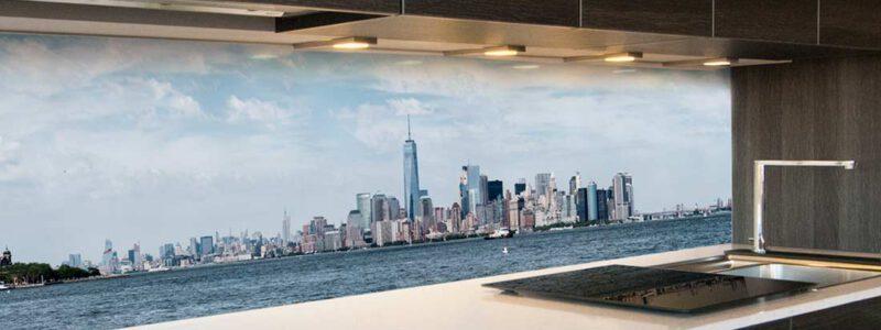 Manhattan keuken achterwand