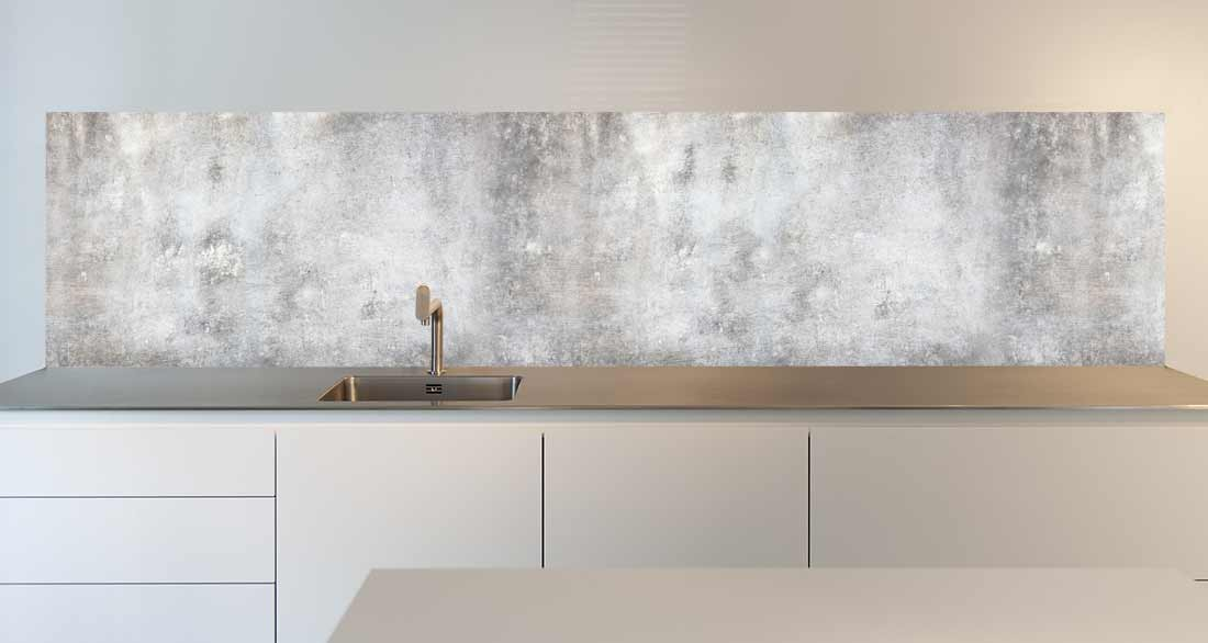 keukenachterwand concrete