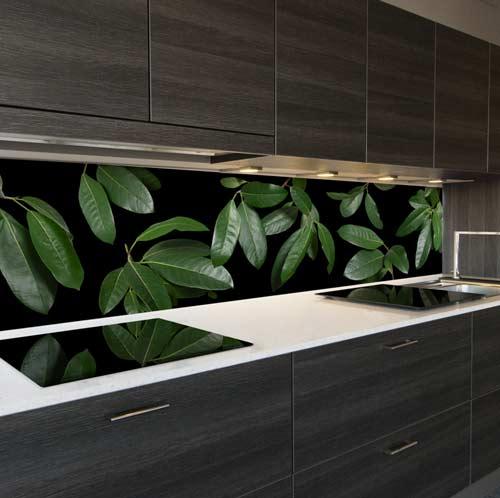 Keuken achterwand Groene Vijg