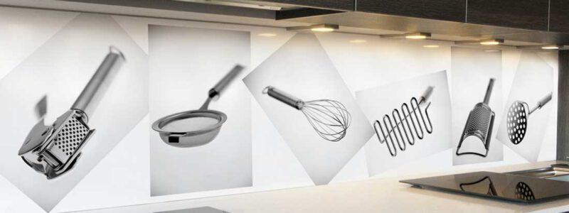 Keuken achterwand Kitchenware