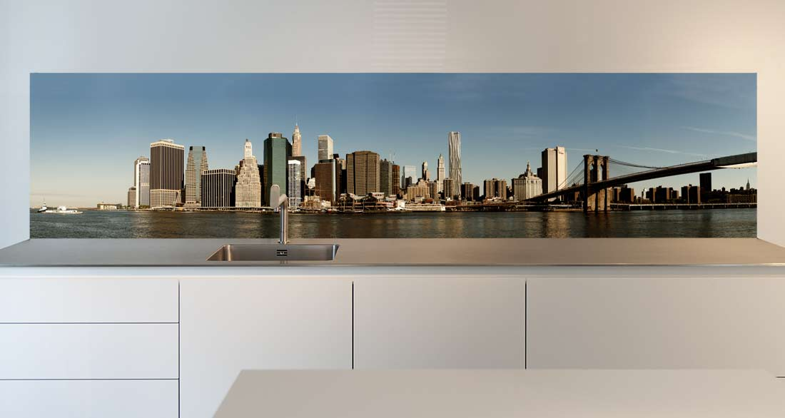 keuken spatwand New York city