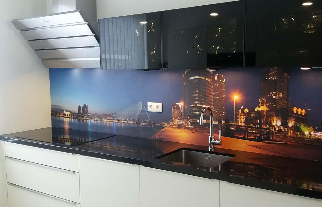 Keuken achterwand Rotterdam