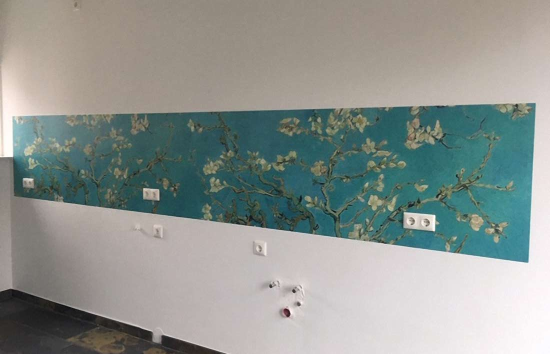 Keuken achterwand Van Gogh Amandelbloesem