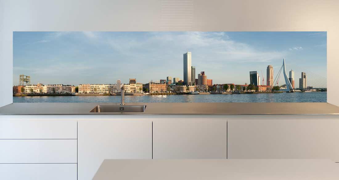 Keuken achterwand vinyl Rotterdam