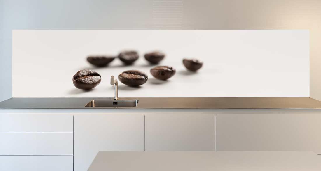 keuken spatwand koffiebonen