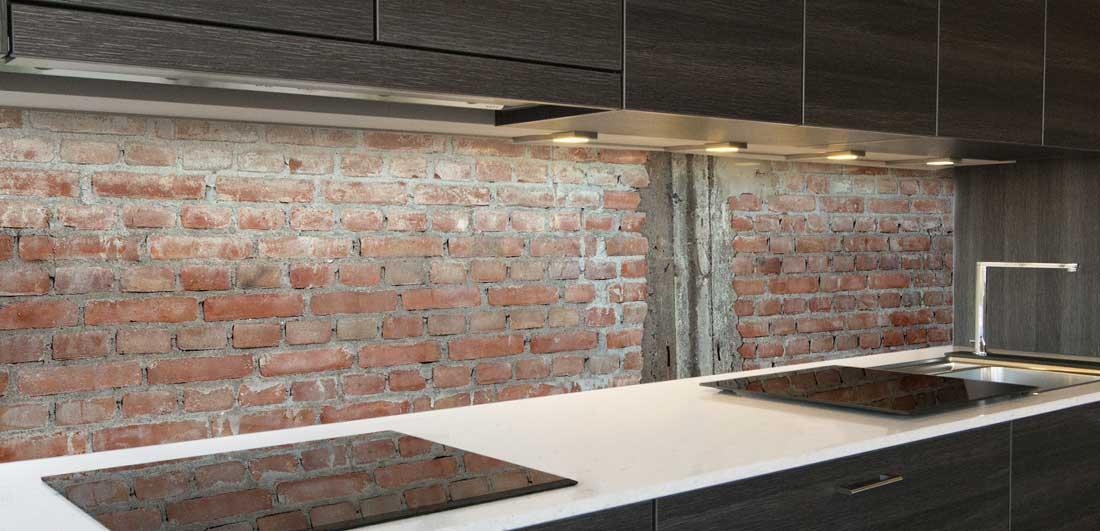 stenen keuken achterwand
