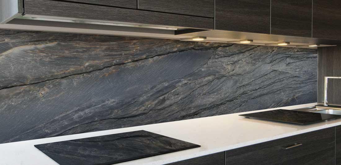 Keuken achterwand natuursteen inspiratie