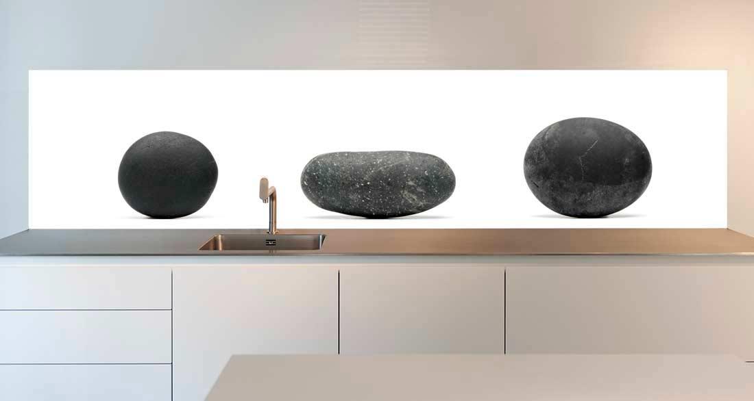 Keuken achterwand stenen