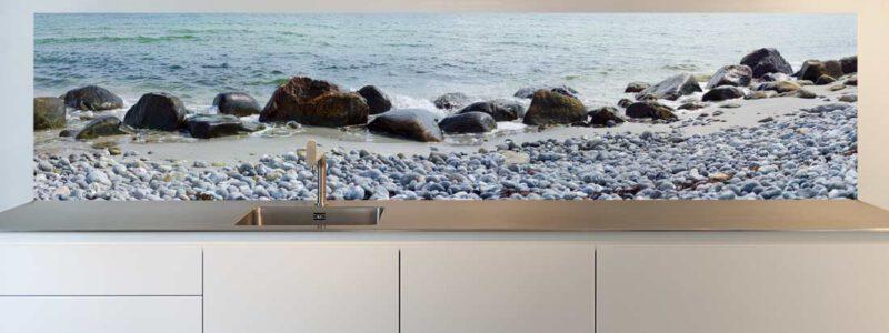 Agerso Denemarken strand keuken